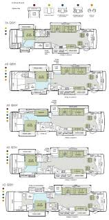 tiffin phaeton class a motorhome floorplans rv floorplans large