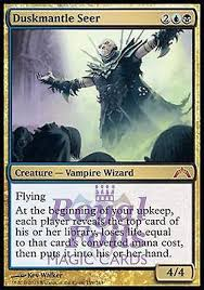 foil duskmantle seer from the gatecrash set royal foils magic cards