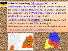 bundesländer nach fläche bundesländer deutschlands baden württemberg ppt herunterladen