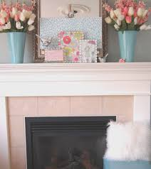 fireplace spring fireplace decor home design new marvelous