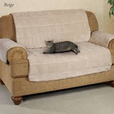 Loveseat Slipcover Microplush Pet Furniture Covers With Longer Back Flap