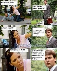 Doctor Meme - evolutionary version of the doctor meme by fulminor meme center