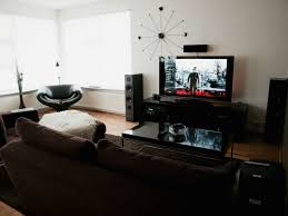 Best Speakers For Living Room Captivating Living Room Setup Design With Wall Mounted Large