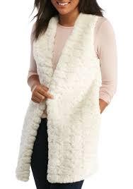 fur sweater me faux fur front sweater vest belk