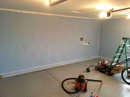 priming u0026 painting garage walls and ceiling