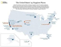 where are the happiest cities in the us one is in texas fort