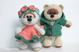 teddy bears honey teddy bears in crochet pattern amigurumi today