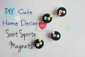 cute home decor soot sprite magnets fan art youtube