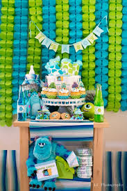 inc baby shower decorations monsters inc baby shower decorations pinkducky killians