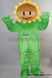Sunflower Halloween Costume Sunflower Plants Zombies Pvz Mascot Costume Size Au