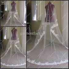 wedding veils for sale lace trim wedding veils white netting chapel bridal