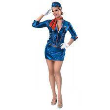 Airplane Halloween Costume Stewardess Dress Ebay