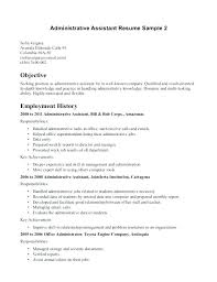 office assistant resume resume objective for office administrative assistant resume