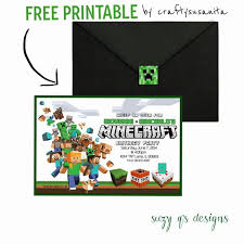 35 best birthday party images on pinterest minecraft party