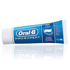 6 oral b pro expert deep clean fluoride toothpaste whitening mint