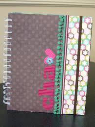 Notebook Cover Decoration Aly Dosdall Cha Prep