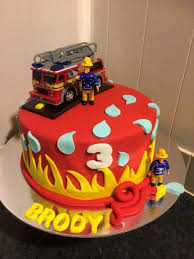 25 fireman sam birthday cake ideas fire truck