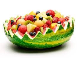 basket fruit watermelon fruit basket cake recipe food network kitchen food