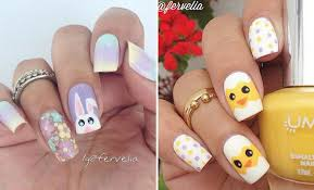 Easter Nail Designs 21 Easy And Simple Easter Nail Art Designs Stayglam