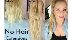 Show Pony Hair Extensions by How To Get Long Hair Without Using Hair Extensions Ponytail