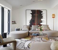 Interior Design San Francisco by Modern And Elegant Living Area Interior Design Of Space Age Chic