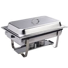 foodking chafing dish set of 8 stainless steel chafer full size