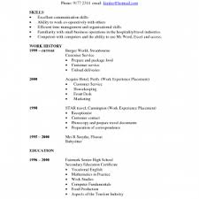 Resume For Factory Worker Pretty Inspiration Resume Communication Skills 11 Skills List Of