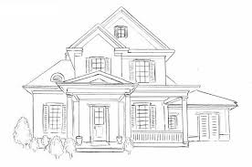 house drawings how to draw a house drawing house step by step for beg