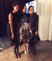 zac posen light up gown zac posen partners with google to show nyc fashion week s first ever
