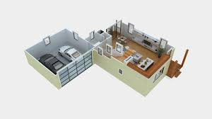 3d floor plan software free with simple bathroom and bedroom