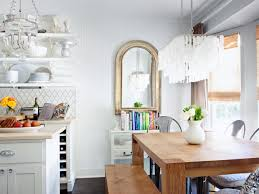 lighting exciting capiz chandelier for kitchen design with white