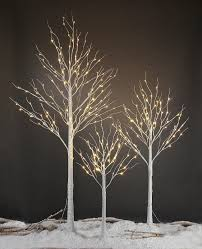 twinkling white led icicle lights amazon com lightshare new 4ft 48l led birch tree free gift 10l