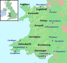 Map Of Wales And England by A Regular Chronological