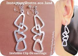 how to make your own clip on earrings clip earrings that are invisible painless comfortable to wear