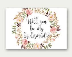will you be my bridesmaid will you be my bridesmaid printable bridesmaid card
