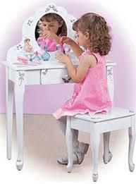 Little Girls Vanity Playset Toddler Vanity Table Charming Toy Vanity Table Pilotschoolbanyui