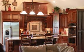 The Cabinets Plus Rustic Cherry Kitchen Cabinets - Rustic cherry kitchen cabinets