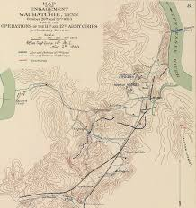Map Of Tennessee And Georgia by Battle Of Wauhatchie Wikipedia