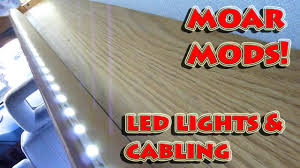 Camping Led Strip Lights by Wiring Led Strip Lights Into The Van U0027s Dome Light Rv Cabling And
