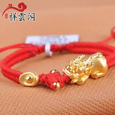 gold lucky bracelet images China lucky rope bracelet china lucky rope bracelet shopping jpg