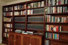 libraries and wall wall