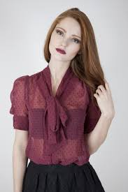burgundy blouse whistle wolf burgundy dot bow front blouse