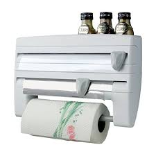 mse 4 in 1 roll use kitchen triple paper roll dispenser u0026 holder