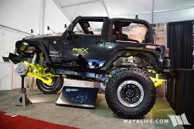 jeep jk frame 2017 sema rego 4x4 rex jeep jk wrangler