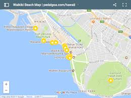 map of waikiki waikiki things to do in waikiki map list oahu hawaii