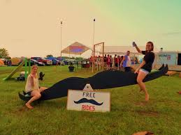 Mustache Ride Meme - an actual mustache ride at country usa imgur