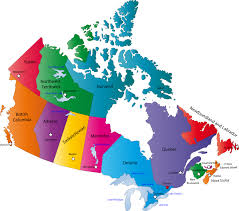 map of canada by province map of canada provinces for canadian provinces and