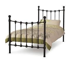 single black metal bed frame chairs u0026 ovens ideas