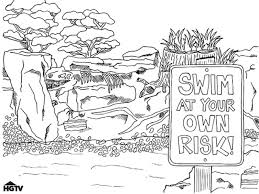 water sports coloring pages printable games swimming coloring
