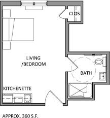 Efficiency Apartment Floor Plans Download Efficiency Apartment Floor Plan Buybrinkhomes Com